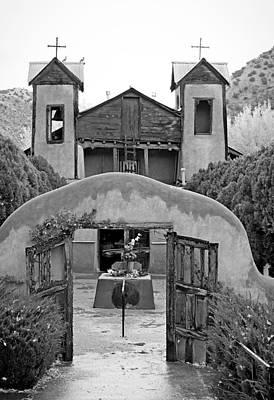 Photograph - El Santuario De Chimayo Study 5 by Robert Meyers-Lussier