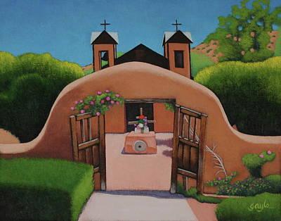 Painting - El Santuario by Gayle Faucette Wisbon