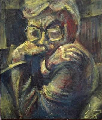 Character Portraits Painting - El Senor Del Covadonga by Ashael Shewionkova