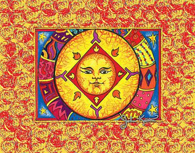 Digital Art - El Sol 1 by John Keaton
