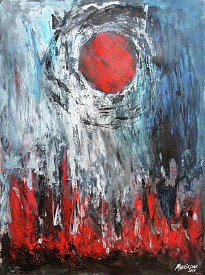 El Sol Evapora El Alma Art Print by Lorenzo Muriedas
