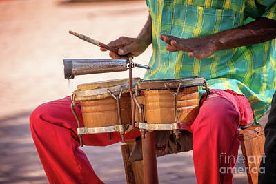 Musician Royalty-Free and Rights-Managed Images - El son de Cuba by Delphimages Photo Creations