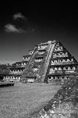 Photograph - El Tajin Pyramid Veracruz Mexico by John  Mitchell