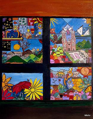 Painting - El Temblor by MikAn 'sArt