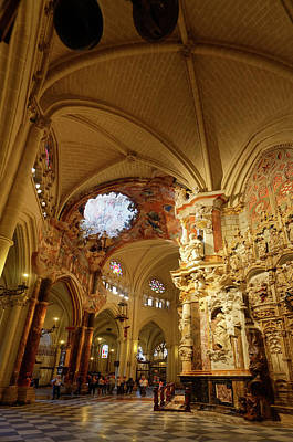 Photograph - El Transparente Baroque Altarpiece by Sally Weigand