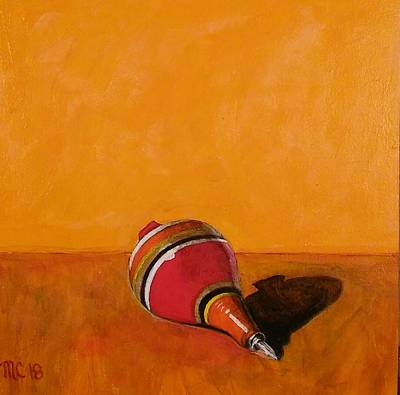Painting - El Trompo by Manny Chapa