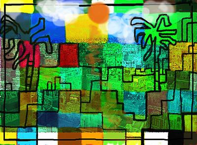 Sand Castles Mixed Media - El Zahir  by Paul Sutcliffe