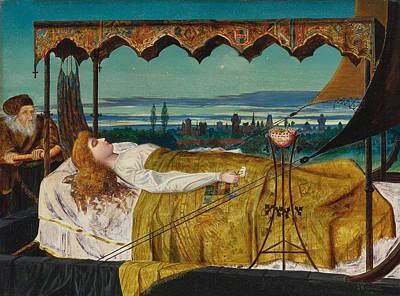 Painting - Elaine by John Atkinson Grimshaw
