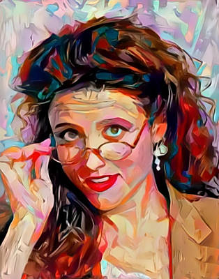 Painting - Elaine by Paul Van Scott