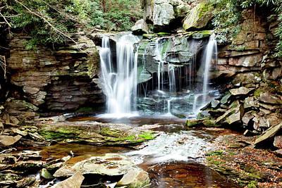 Photograph - Elakala Falls 2 by Robert Camp