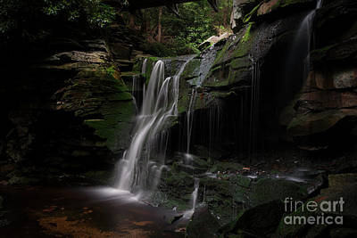 Photograph - Elakala Falls Are A Series Of Four Waterfalls by Dan Friend