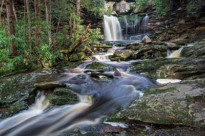 Photograph - Elakala Falls by Chris Berrier