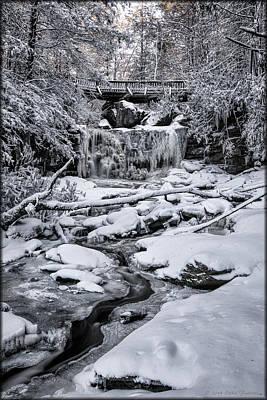 Photograph - Elakala Falls by Erika Fawcett