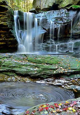 Blackwater Canyon Photograph - Elakala by Jamie Pattison