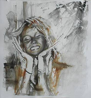 Painting - Elation by Anne-D Mejaki - Art About You productions