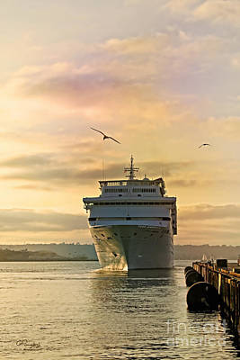 Photograph - Elation - Leaving For A Cruise by Gabriele Pomykaj