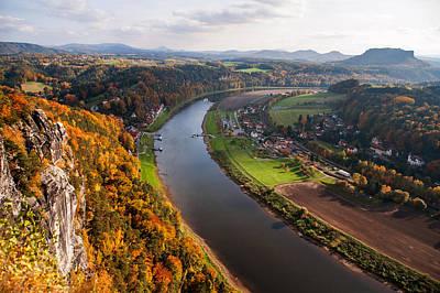 Photograph - Elba River. Saxon Switzerland by Jenny Rainbow