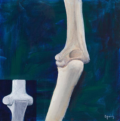 Therapy Room Painting - Elbow And Function by Sara Young