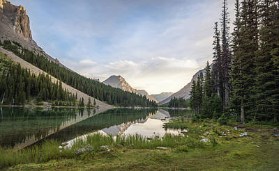 Photograph - Elbow Lake by Dwayne Schnell