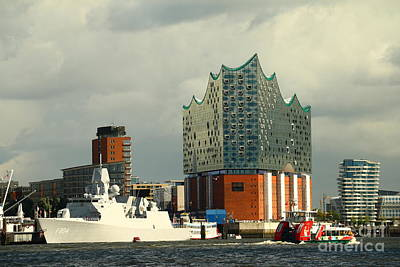 Halls Harbour Photograph - Elbphilharmonie Hamburg by Christiane Schulze Art And Photography