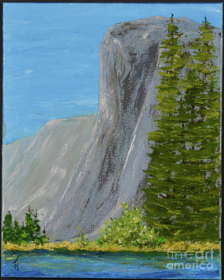 Painting - Elcapitan by Jack Hedges
