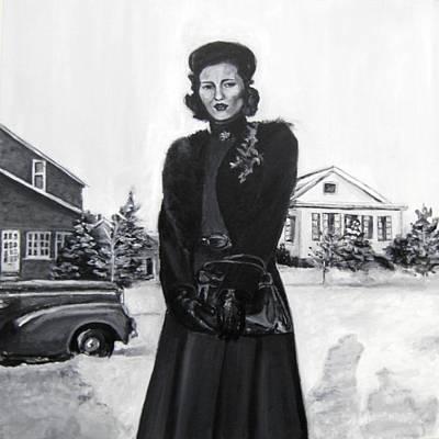 Elda Art Print by Natalie Mae Richards