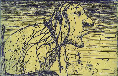 Drawing - Elder by Erik Paul