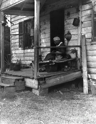 Story-1920s Photograph - Elderly African American Woman by H. Armstrong Roberts/ClassicStock