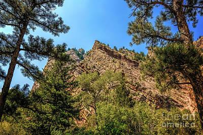 Photograph - Eldorado Canyon View by Jon Burch Photography