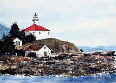 Eldred Rock Lighthouse Art Print
