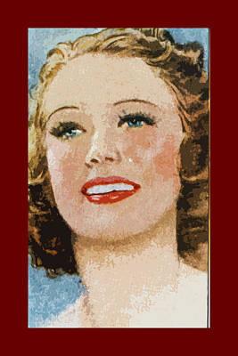 Eleanor Powell Art Print by James Hill