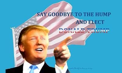Photograph - Elect Trump by Ericamaxine Price