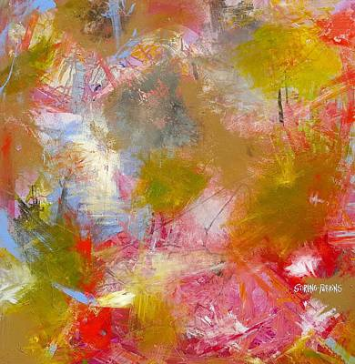Painting - Electa by Stirling Perkins