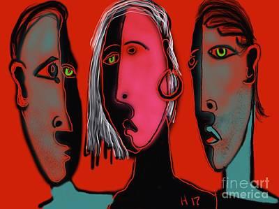 Digital Art - Election Reaction by Hans Magden