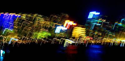 Electri City Art Print by Roberto Alamino
