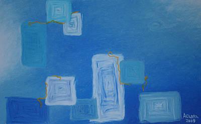 Amanda Clark Pastel - Electric Avenue by Amanda Clark