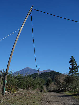 Photograph - Electric Avenue To El Teide by Elena Schaelike