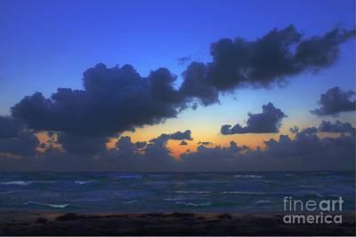 Orange Photograph - Electric Blue 2 by Jeff Breiman