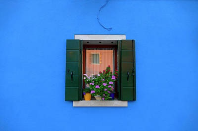Photograph - Electric Blue by Bruce