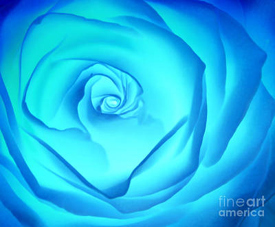 Blue Flowers Photograph - Electric Blue by Krissy Katsimbras