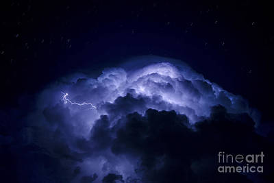 Photograph - Electric Blues by Ryan Smith