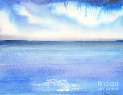 Painting - Electric by Carolyn Weir