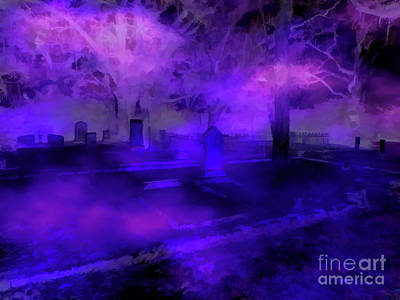 Photograph - Electric Cemetery by D Hackett