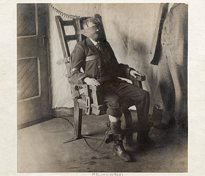 Electric Chair, 1908 Art Print by The Branch Librariesnew York Public Library