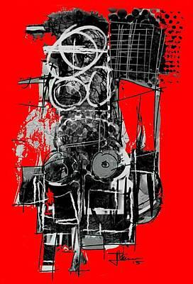 Digital Art - Electric Chair by Jim Vance