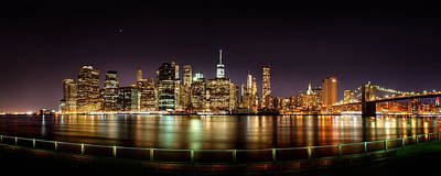 East River Photograph - Electric City by Az Jackson