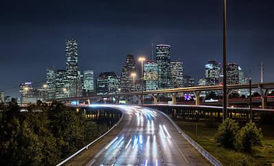 Photograph - Electric City by Chris Multop