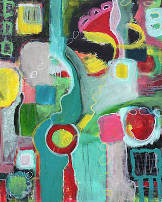 Painting - Electric Color by Susan Stone