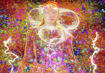 Digital Art - Electric Dreams by Matthew Lacey