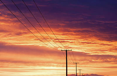 Photograph - Electric Evening by Todd Klassy